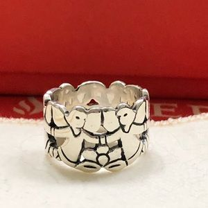 James Avery RETIRED Dancing Angels Ring Size 4.5